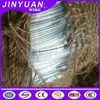 10-25kg 0.7mm electro galvanized iron wrie coil woven gunny packing