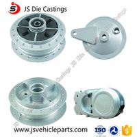 Excellent Dimension Motorcycle Aluminum Die Casting Parts with ODM Service