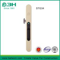 STG34, Embedded Aluminium Window Sliding Latch Lock / Sliding Windows Lock without screw, window scr