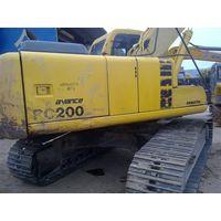 used komatsu pc200 excavator