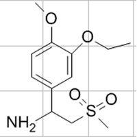 1-(3-Ethoxy-4-methoxyphenyl)-2-methylsulfonylethylamine