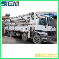 Used concrete pump, used SCHWING/PM/ZOOMLION/SANY/XCMG concrete pump