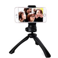 Mini Lightweight Table Top Stand Tripod and Grip Stabilizer Compatible with Digital Camera, DSLR, thumbnail image