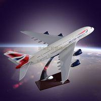 Static Model Aircraft OEM Airbus 380 British Airways Resin Manufacturer Direct Sales