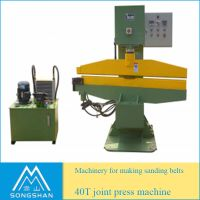 Hydraulic Press Machine for Abrasive Sanding Belt Joint Making thumbnail image