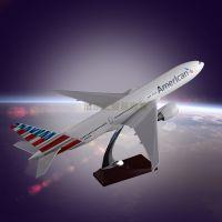 Customized Airplane Model Manufacturer OEM Boeing 777 Display Aircraft Model Resin for Business Gift