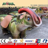 Dinosaur game equipment outdoor playground dinosaur rides