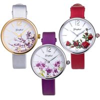 china watch 3AM water Resistant for high quality watch strap of genuine leather