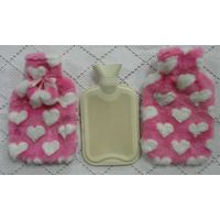 hand warmers with fleece cover hot pack hot water bottle hot water bag