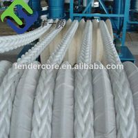 Nylon and polypropylene rope for fishing, lifting, mooring and anchor use