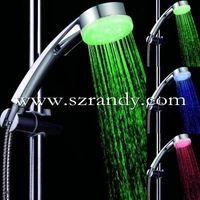 temperature sensor led shower/hand shower head/massage shower head thumbnail image