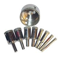 Wholesale price 10mm electroplated diamond glass grinding drill thumbnail image