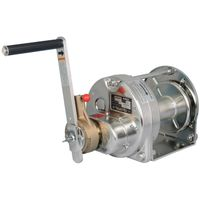 Stainless Steel Ratchet Hand Winches (Electropolishing): Model ERSB-3-SI (300kgf)