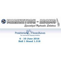 ADAMS HYDRAULICS POSIDONIA EXHIBITION 6-10/6/16 PARTICIPATION GREECE
