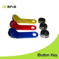 TM ibutton card key DS1990A-F5 compatible Dallas for door lock(GYRFID) thumbnail image