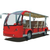 Electric zoo shuttle buses