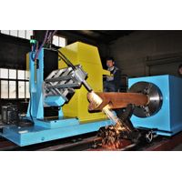 CNC plasma pipe cutting machine square tube cutter