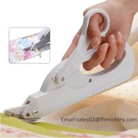 2AA batteries operated fabric cutter electric tailor scissors FS-101