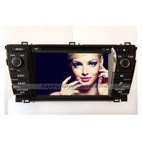 Car DVD Player GPS Navigation TV System support Bluetooth Touch Screen iPod for Toyota Corolla 2014