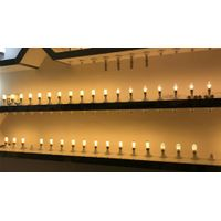 100-265v led candle light Decorative lighting passed CE and RoHs certifition