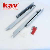 Kav full extension soft close drawer slides|concealed drawer slides