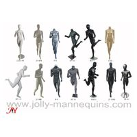 Jolly mannequins- sports running mannequins collection,new design mannequin,athletic stylized