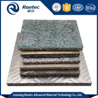 Factory direct sell sandwich aluminum foam panels for soundproof