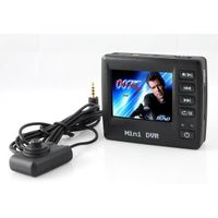 """Mini Button Spy Camera with 2.5"""" TFT LCD and AngelEye camera Motion Detection Law Enforcement thumbnail image"""