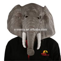 X-MERRY TOY Novelty Latex Creepy Elephant Mask Halloween Party Costume Decorations One Size x13024