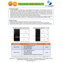 Citrus Genetic Hybrids Detection Kit