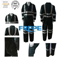300gsm Navy Blue FR Protective Clothing/safe clothes