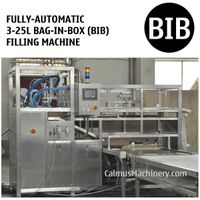 Fully-automatic 3-25L BIB Water Beverage Oil Filling Machine Bag in Box Filler