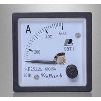 600/5A Pointer type ac current meter