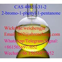 Supply 99% Purity 2-Bromo-1-Phenyl-Pentan-1-One 2-Bromovalerophenone Yellow Liquid CAS 49851-31-2/1