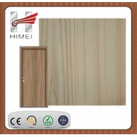 Wooden color pvc laminated steel sheet for door