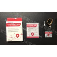 High Quality Sterilization Card Portable Protection Card Work for 90days