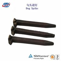 Plain Oiled Rail Spike for Railroad in North America thumbnail image