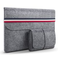 Customized Business Notebook Cover Felt Laptop Sleeve Bag Pouch Bag for laptop cover