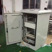 DDTE 038, Outdoor Telecom Cabinet, One Compartment,With Trays Which Can Be Moved Up Or Down Accordin