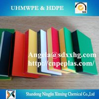 XINXING CHEMICAL HDPE muti-color plates for Playground equipment