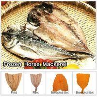 Frozen Horse Mackerel(W/R)/ Frozen Horse Mackerel Fillet/  Frozen Horse Mackerel Breaded Fillet