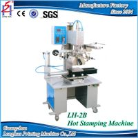 Semi-Automatic Plate&Round For Bottle Cap and Body, toys, Digital Hot Foil Stamping Machine for sale