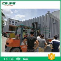 vacuum cooler for vegetables 1500kg/day