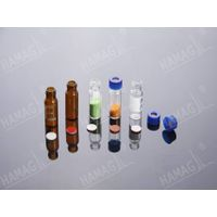 9-425 thread Short Thread Vials, Caps and Septa, Wide opening Short Thread ND9