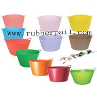 flexible buckets,garden tools,plastic pails,garden tubs,plastic containers thumbnail image
