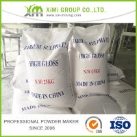 Natural Barium Sulphate D50 2 micron for plastic masterbatch usage thumbnail image