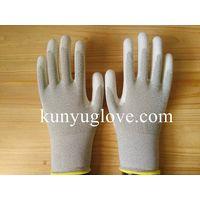 Dust Free ESD copper yarn/fiber antistatic working Glove
