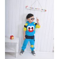 The new during the spring and autumn outfit 2013 boys girls who dress children cartoon sports leisur thumbnail image