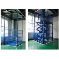 stationary cargo scissor lift