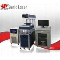 Big sales come CO2 laser marking machine SCM10 for glass /acrylic/leather/rubber/ceramic